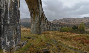 Glenfinnan-Viadukt, Eisenbahnviadukt, West Highland Line