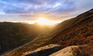 Loch Maree Sonnenuntergang Sunset Schottland Scotland