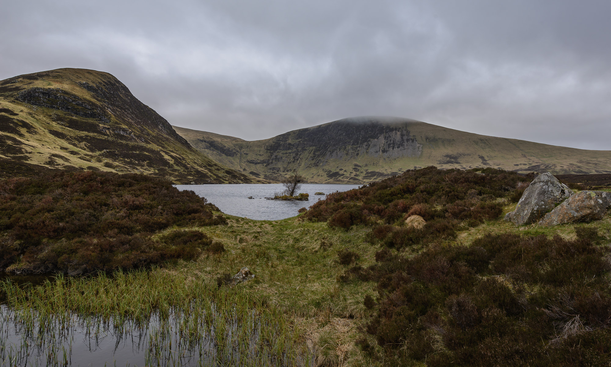 Loch Skeen Grey Mares Tail Path Schottland Scotland