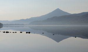 Schiehallion, Loch Rannoch, Spiegelung