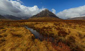 Stob Dearg, Buachaille Etive Mòr, Scotland, Schottland