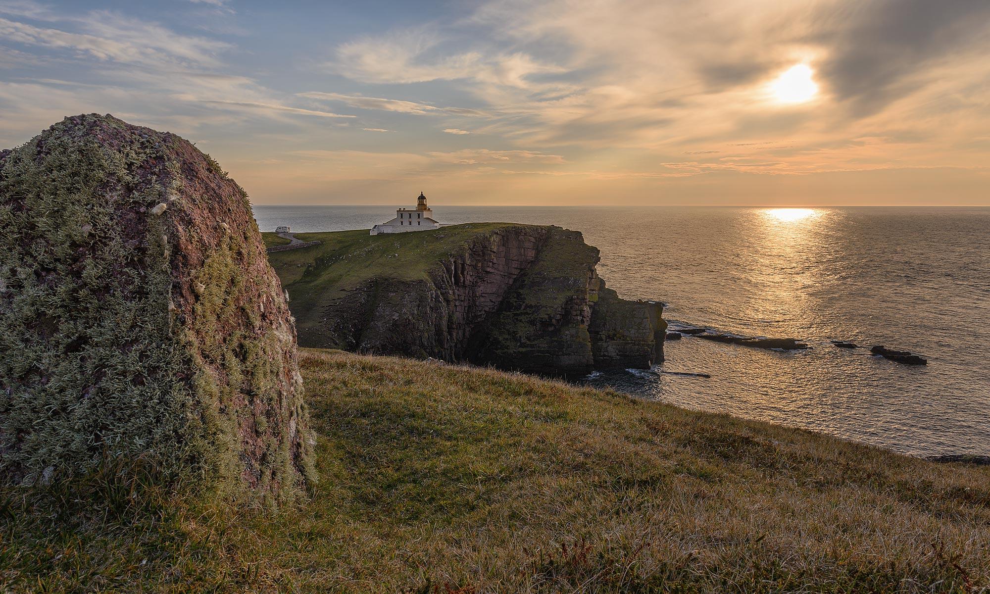 Stoer Head Lighthouse, Leuchtturm auf der Stoer-Halbinsel